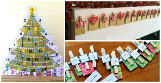 20+ DIY Advent Calendar Ideas