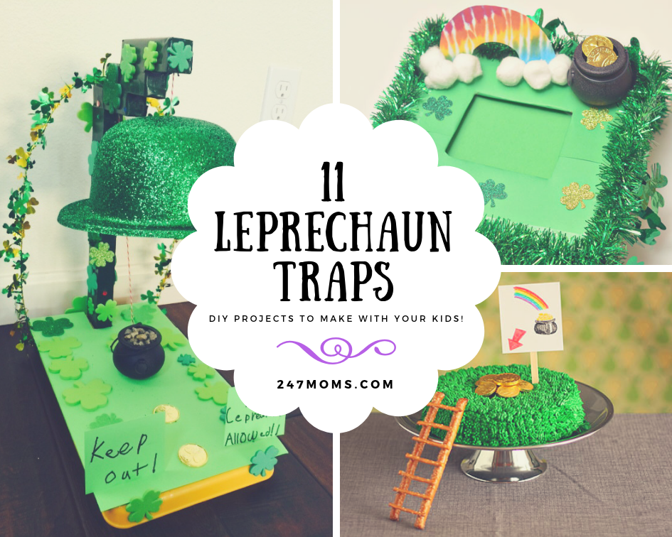 11 DIY Leprechaun Traps to Make with Your Kids