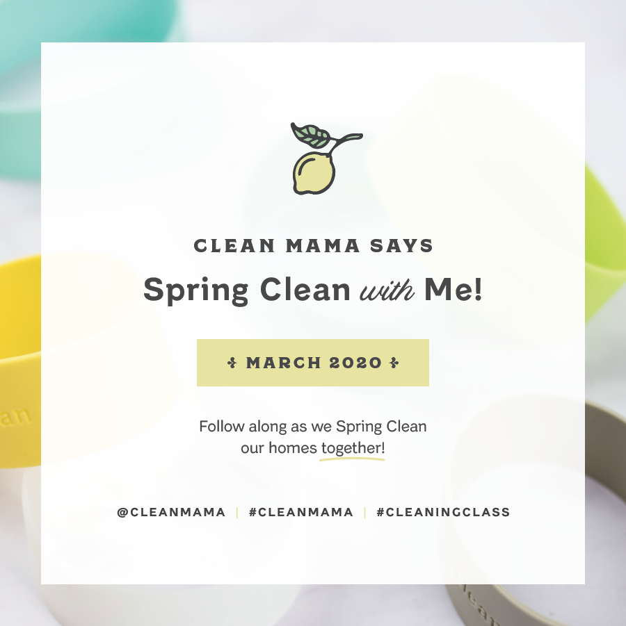 Spring Clean With Me starts on March 1st! – Clean Mama