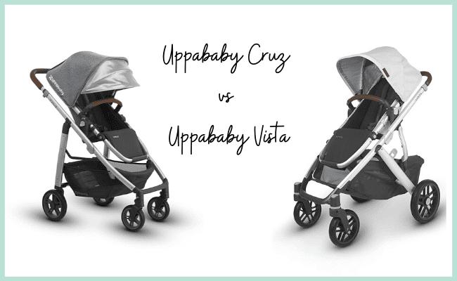 Uppababy Cruz vs Uppababy Vista
