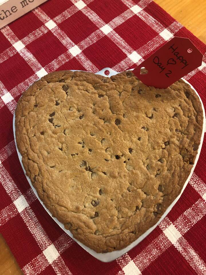 Giant Heart Cookie Using the Wilton Pan