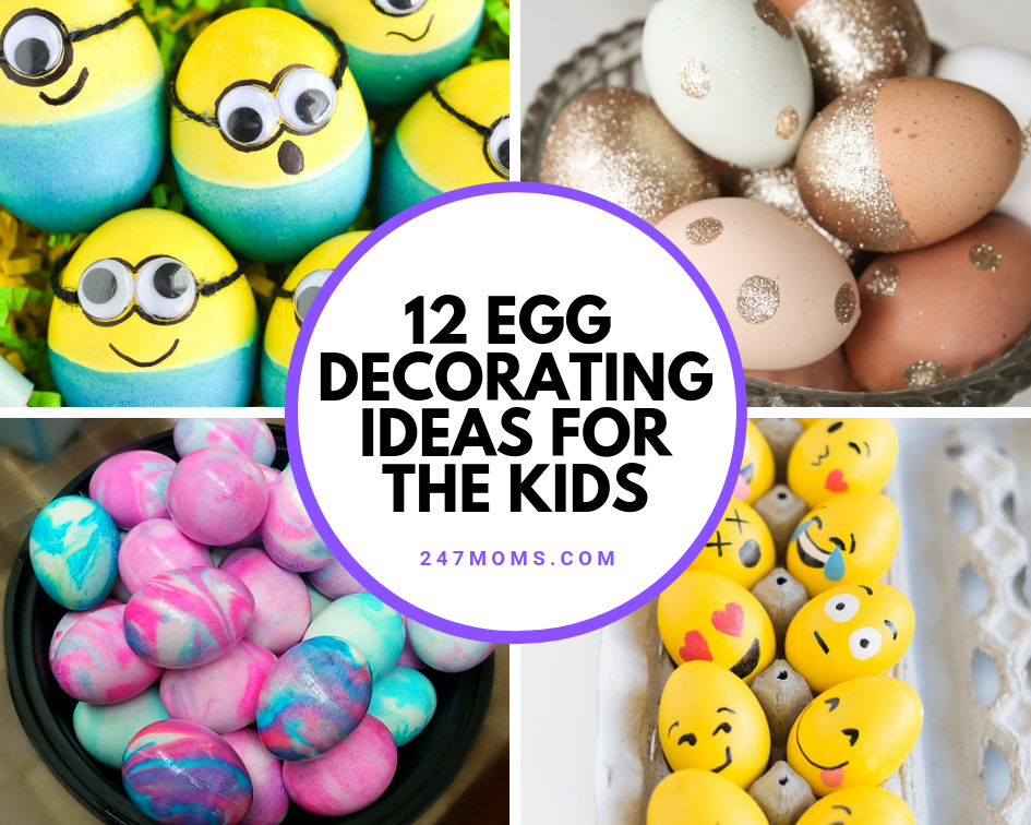 12 Egg Decorating Ideas for the Kids