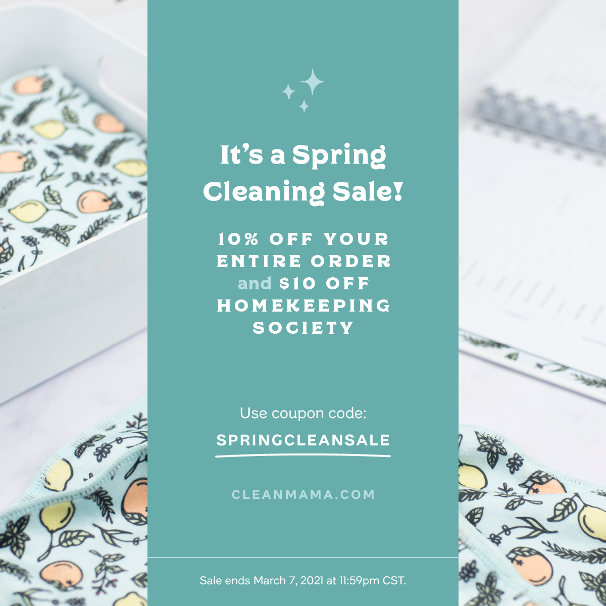 It's a Spring Cleaning Sale! – Clean Mama