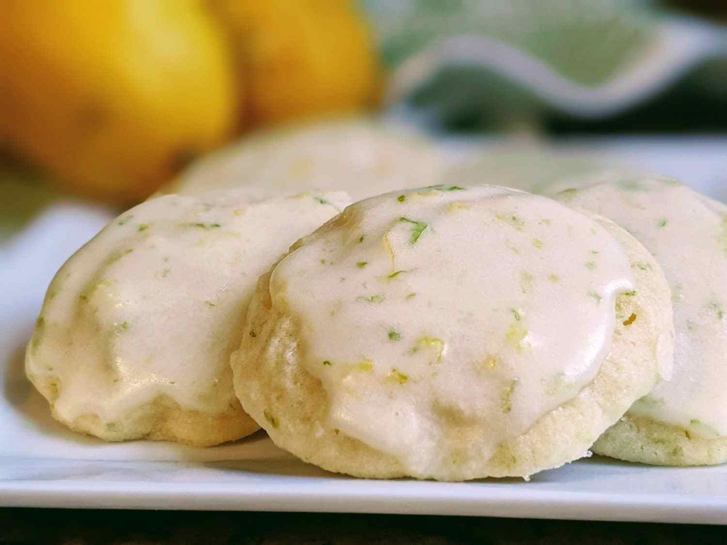 Lemon Lime Cookies Recipe - Perfect for Spring