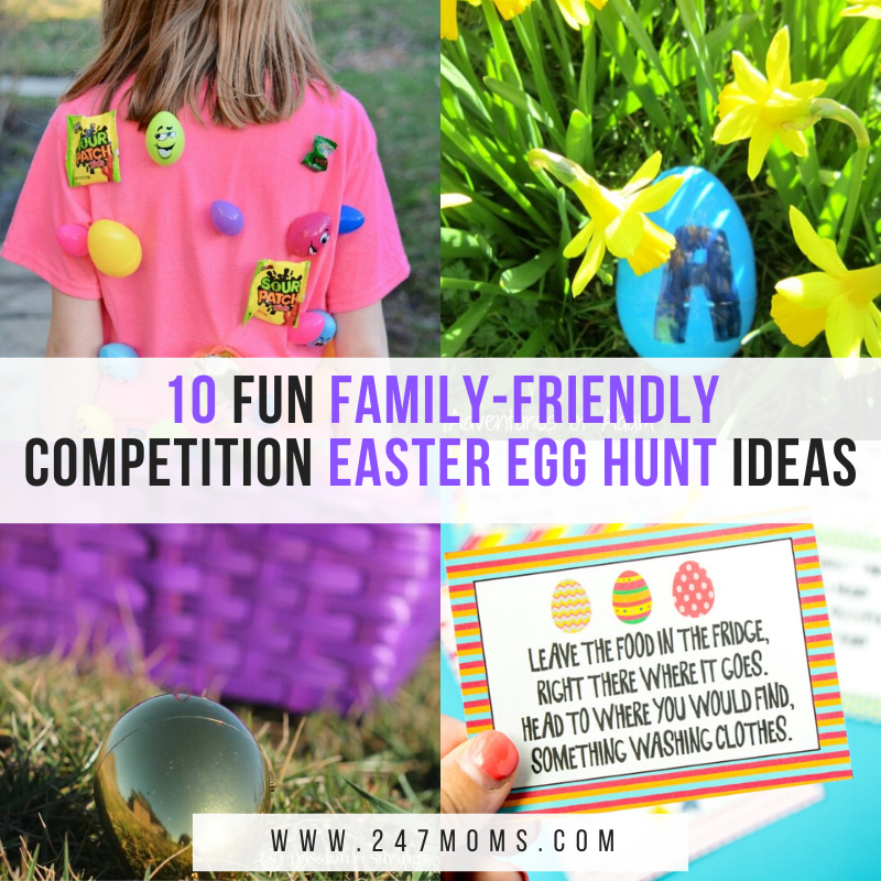 10 Fun Family-Friendly Competition Easter Egg Hunt Ideas