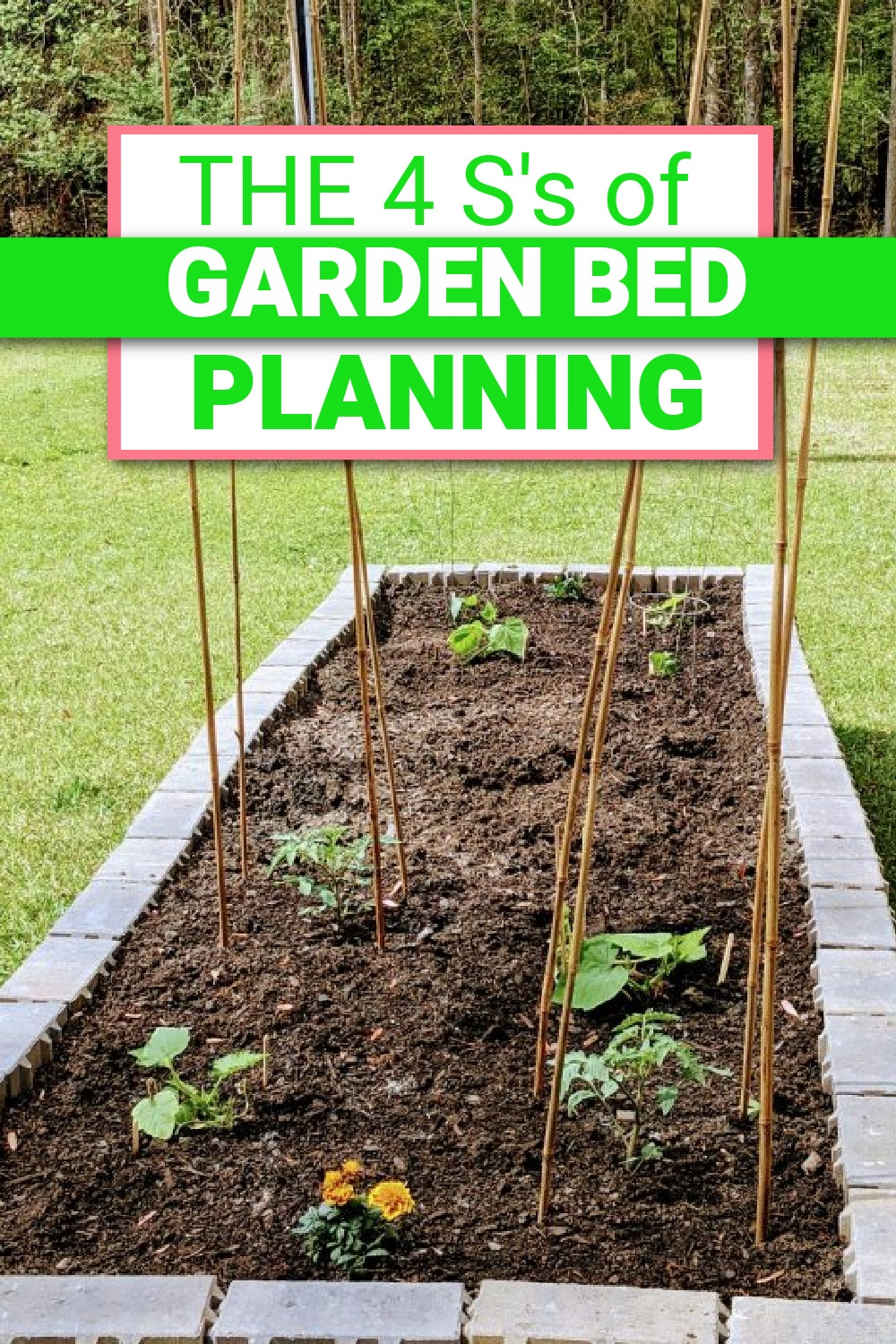 "Raised Garden Bed Plans: The 4 ""S's"" To Get You Starterd!"