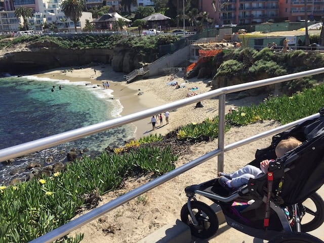What to do with babies near San Diego: La Jolla Cove