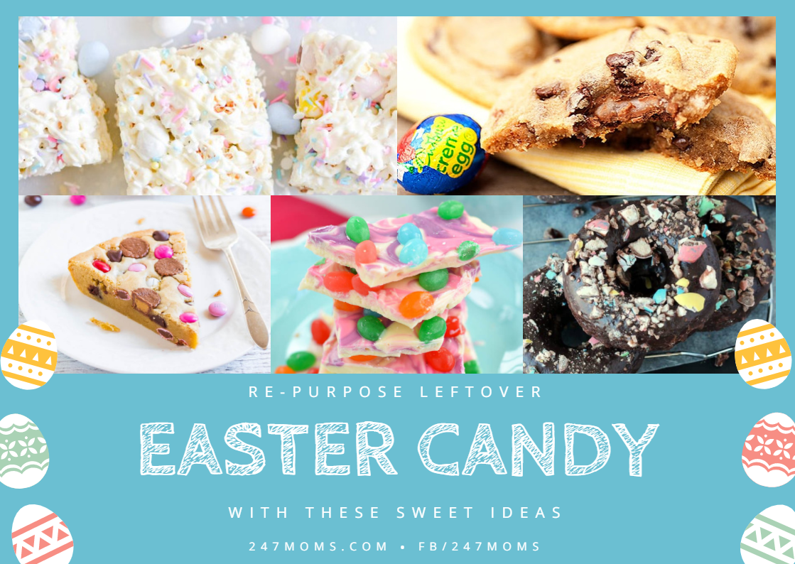 Re-purpose Leftover Easter Candy with These Sweet Ideas
