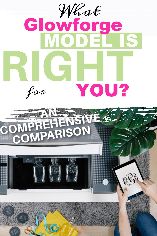 glowforge model comparison