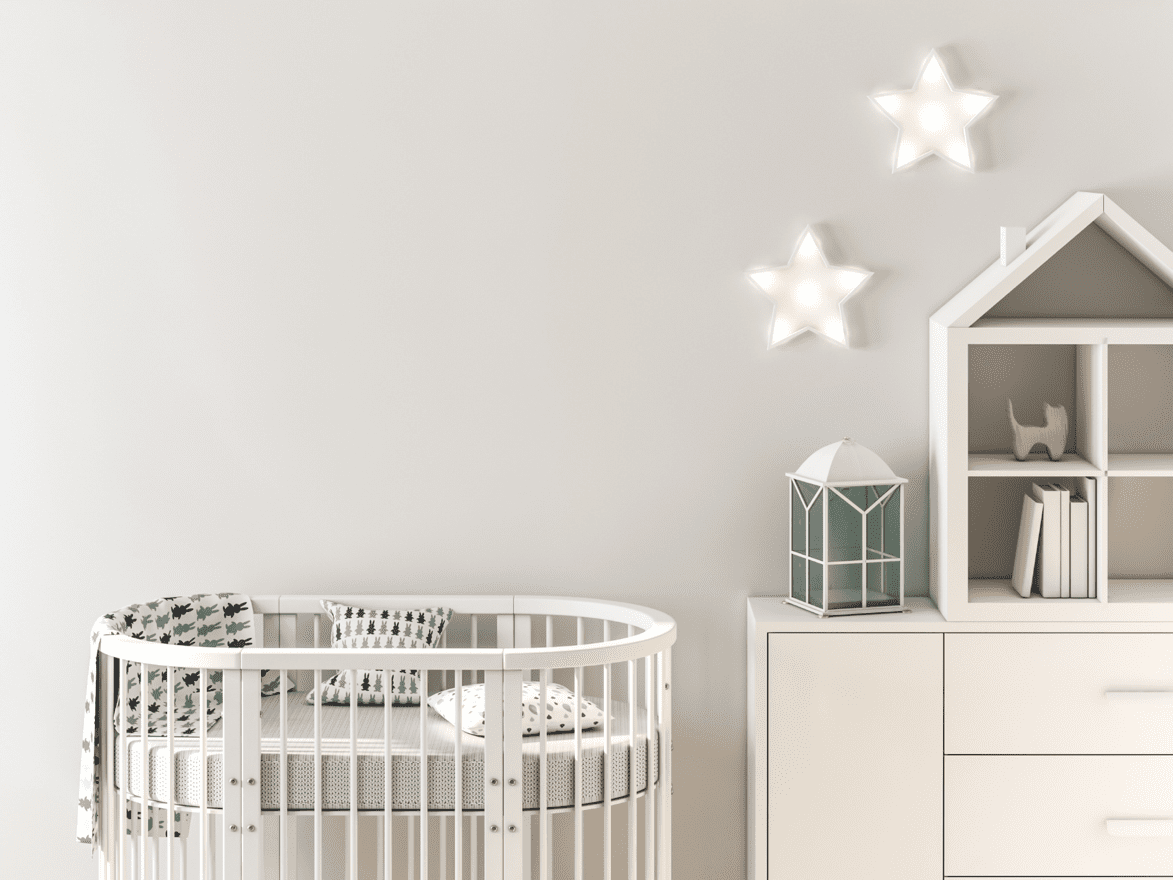 baby oval cribs