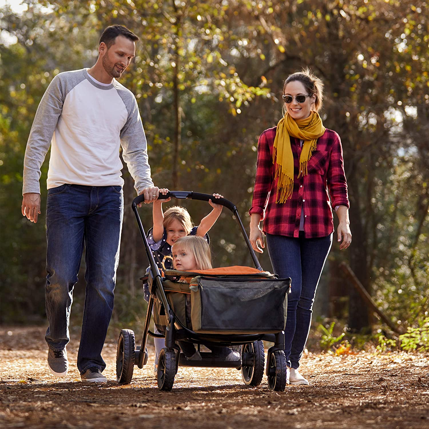 10 Best Stroller Wagons [for Families On the Go!]