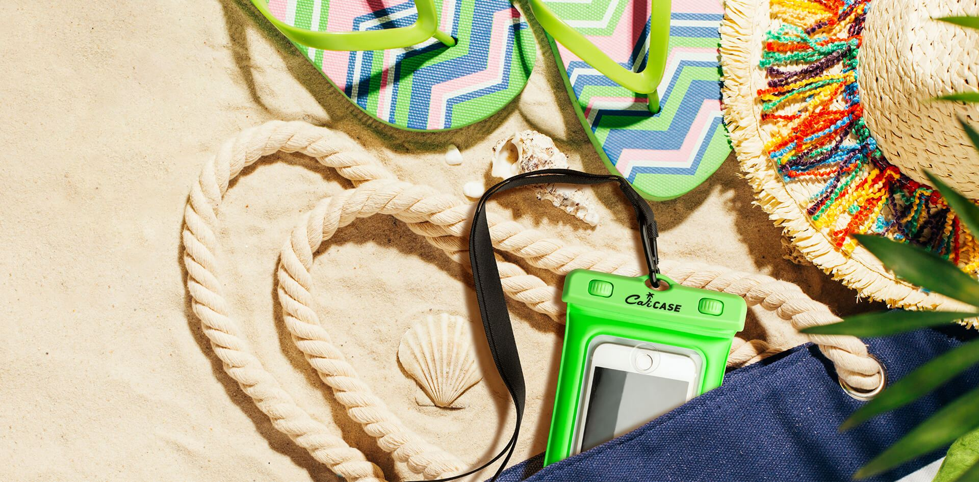 WIN - CaliCase Waterproof Phone Pouches for Your Family Vacation