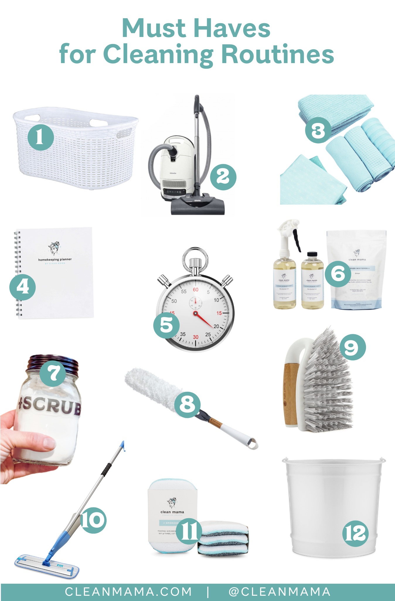 Must Haves for a Cleaning Routine – Clean Mama