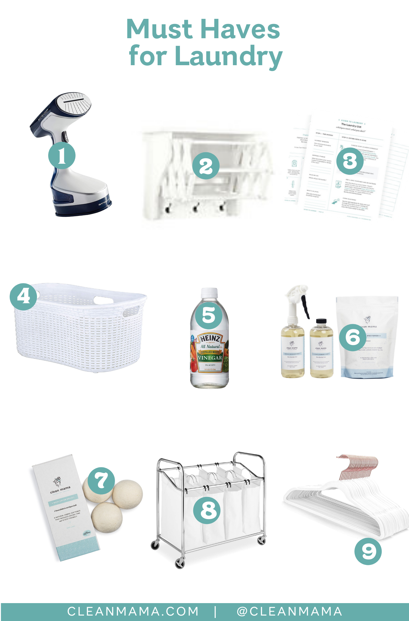 Must Haves for Laundry – Clean Mama