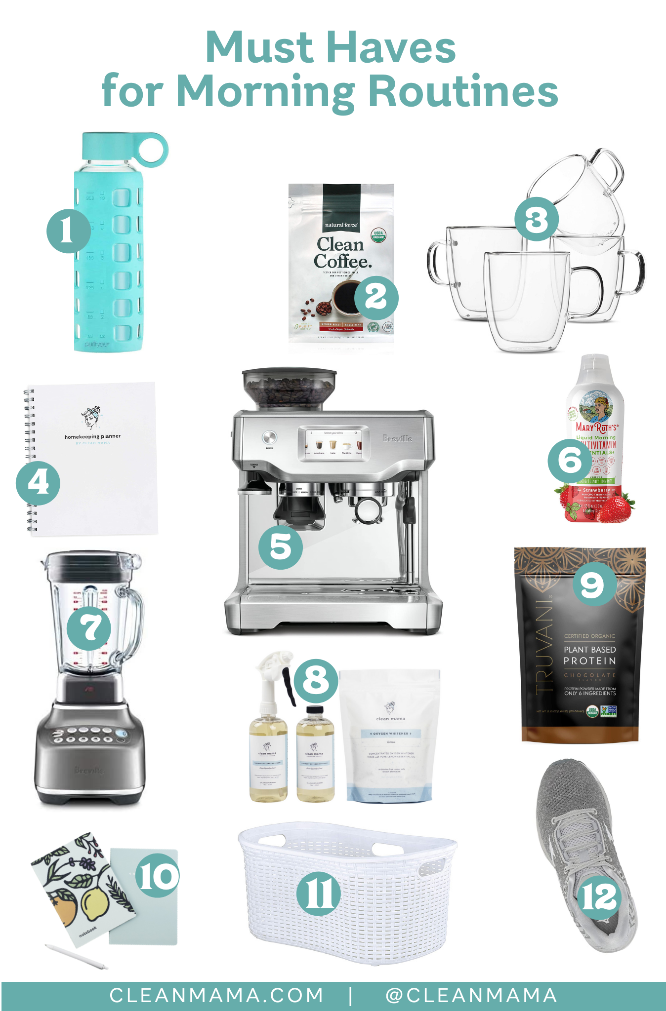 Must Haves for Morning Routines – Clean Mama