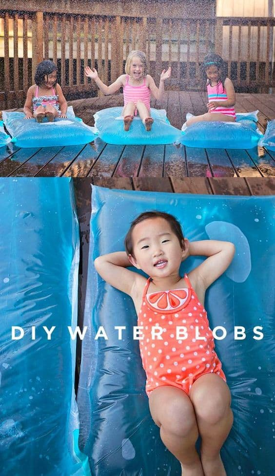 Day 26 - DIY Water Blobs {100 Days of Summer Fun}