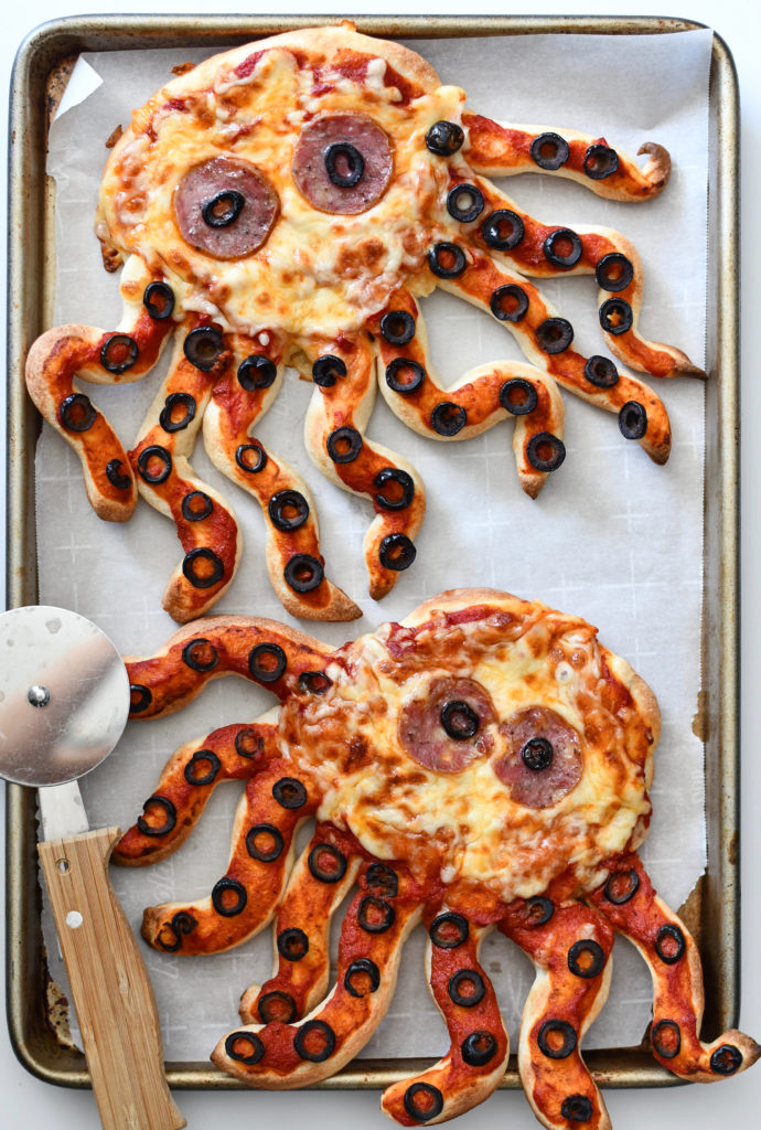 Day 15 - OCTOPUS PIZZA {100 Days of Summer Fun}