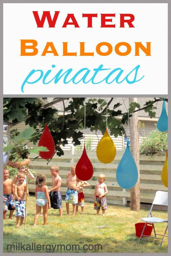 Day 24 - Water Balloon Pinatas! {100 Days of Summer Fun}