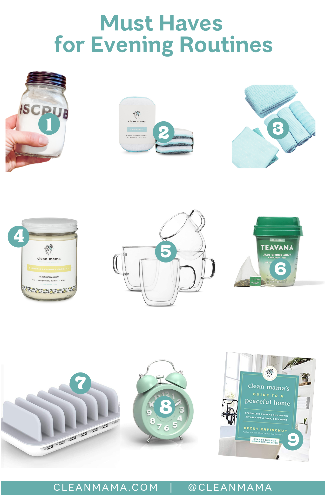 Must Haves for Evening Routines – Clean Mama