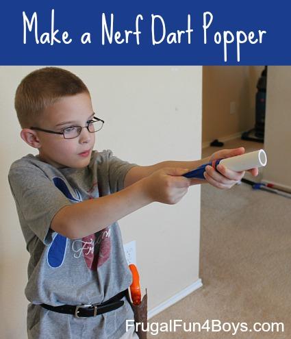 Day 10 - Nerf Dart Popper {100 Days Of Summer Fun}