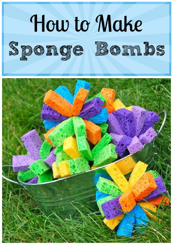 Day 38 - Sponge Bombs {100 Days of Summer Fun}