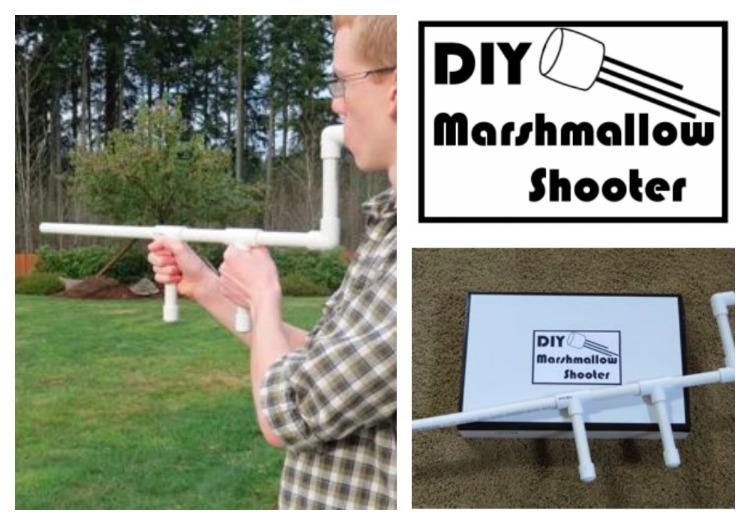 Day 46- DIY Marshmallow Shooter {100 Days of Summer Fun}