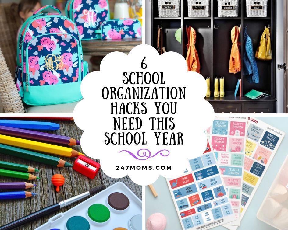 6 School Organization Hacks You Need This School Year