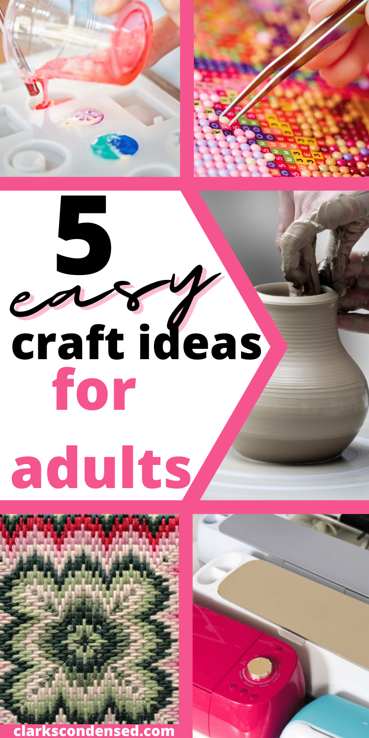 easy craft ideas for adults