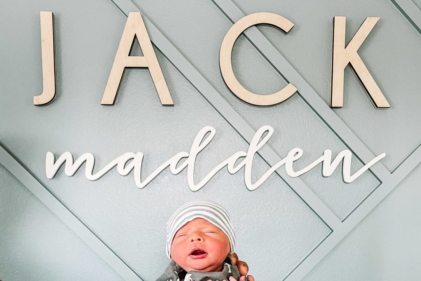 Looking for a Custom Baby Name Sign? Here are 10 Adorable Options!