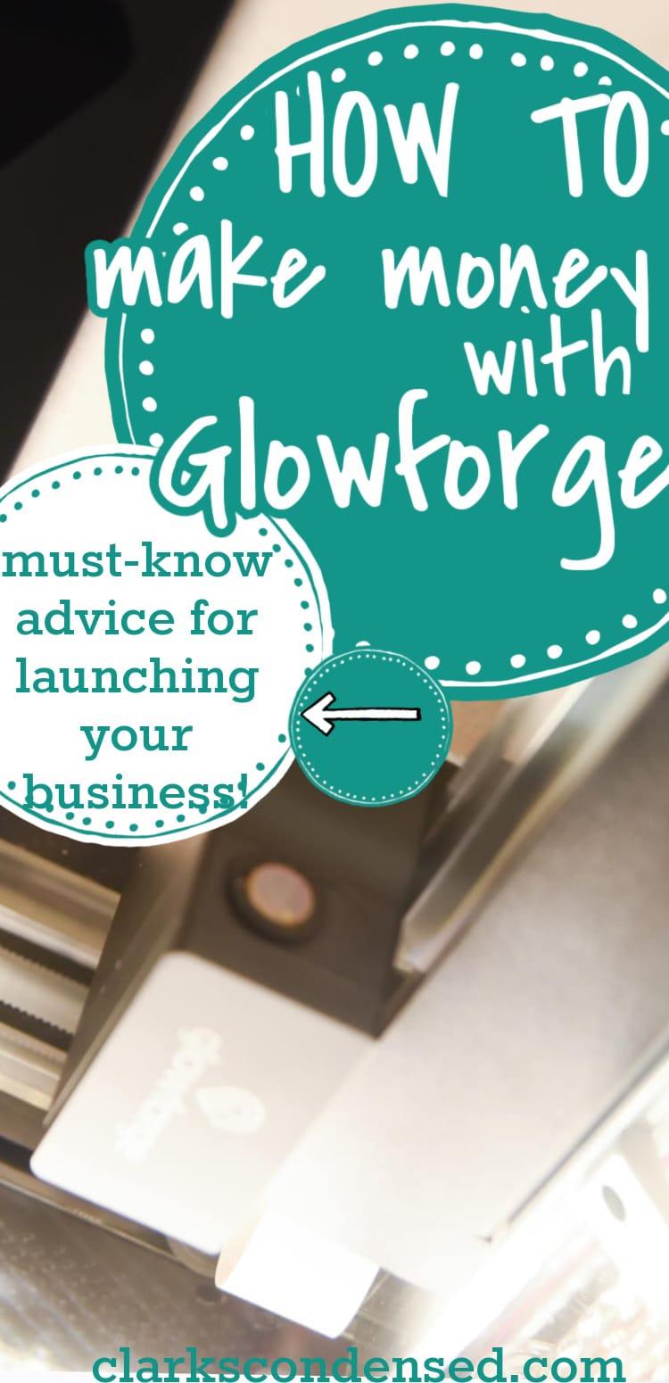 make money with glowforge