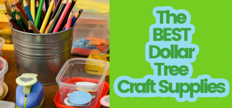 The Best Dollar Tree Craft Supplies (and What to Skip!) (2021)