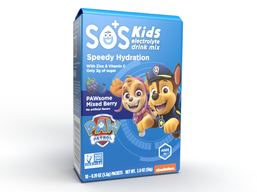 WIN: SOS Kids Electrolyte Drink Mix & Lifestyle Hydration Drink ~ Back to School Bash