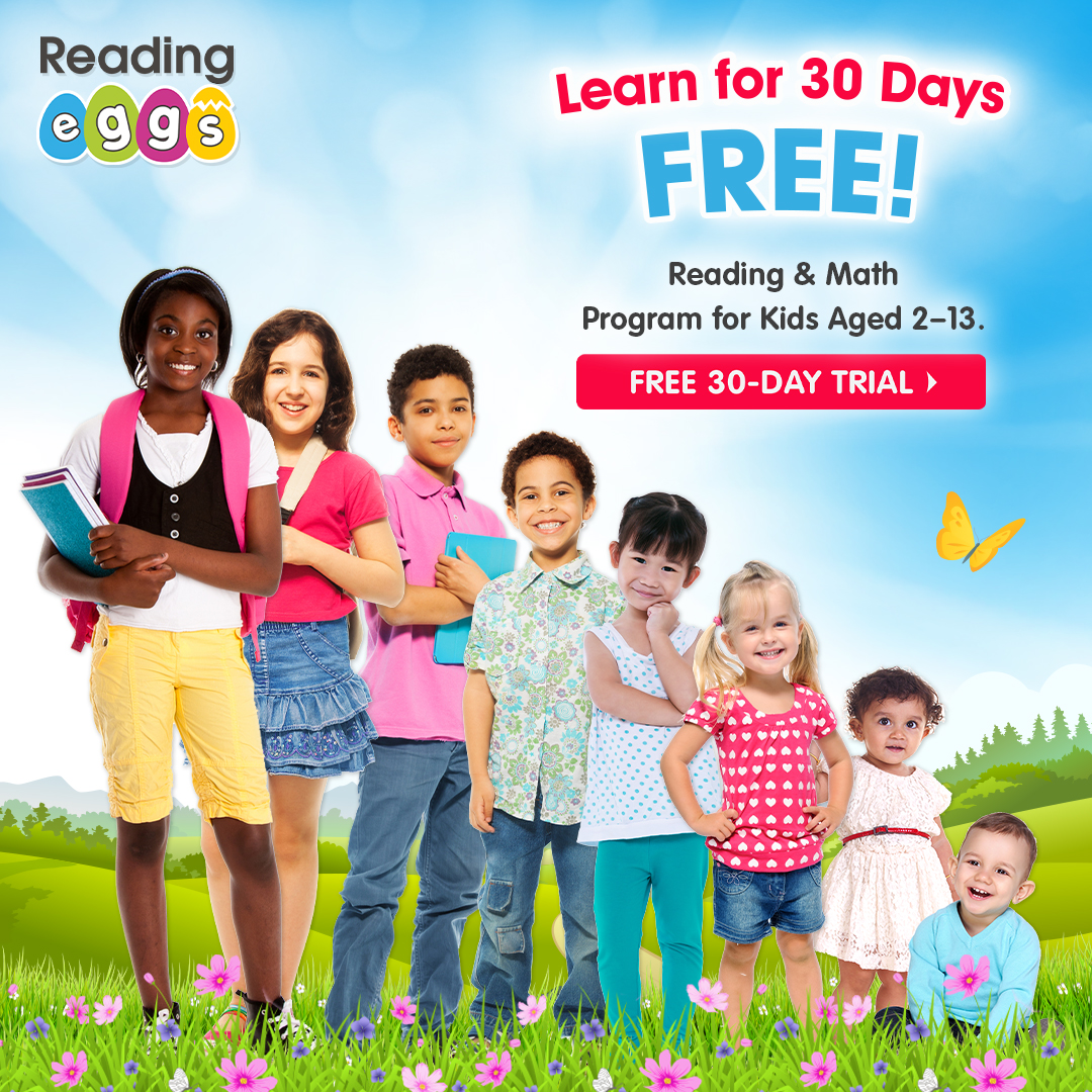 WIN: Reading Eggs Subscription ~ Back to School Bash