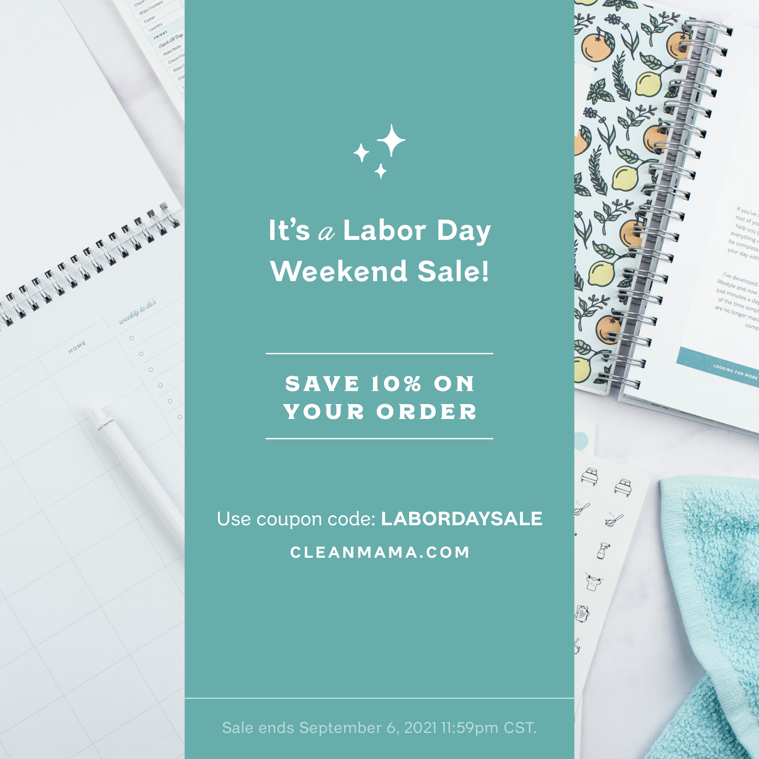 It's a Labor Day Weekend SALE! – Clean Mama