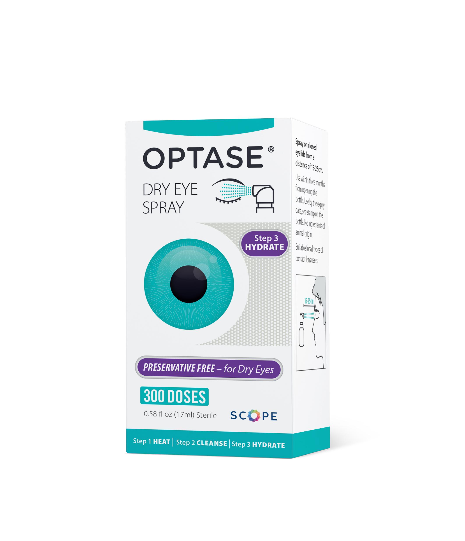 WIN: OPTASE®'s Dry Eye Spray ~ Back to School Bash