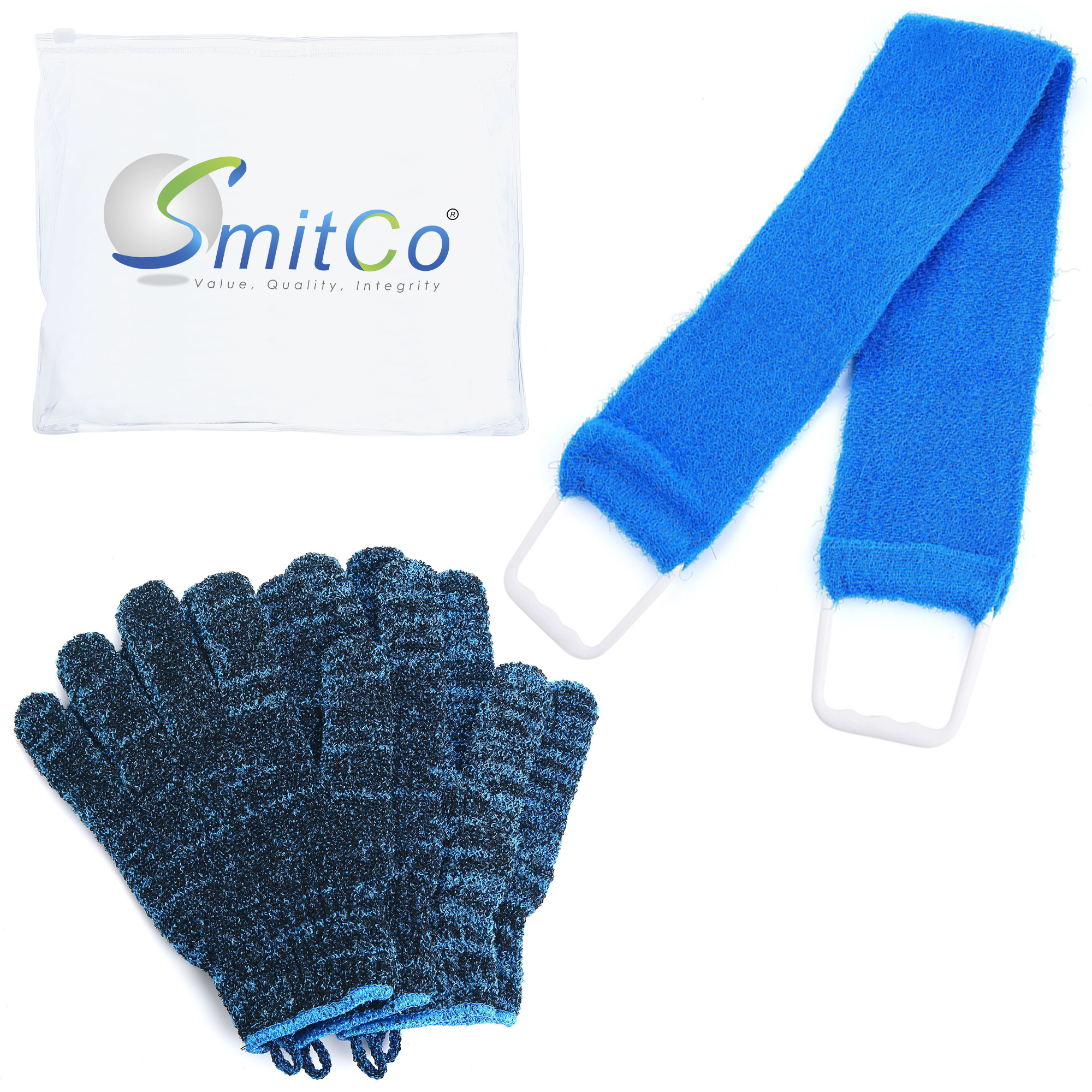 Back To School Bash Facebook Live Event! WIN: Smitco's Body Exfoliation with Exfoliating Gloves and Shower Back Scrubber